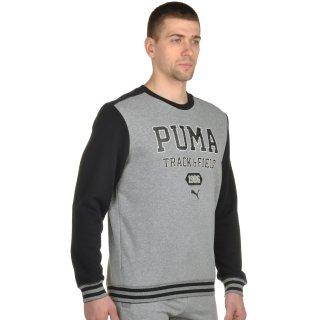Кофта Puma Style Athl Crew Sweat Tr - фото 4