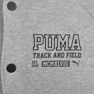 Кофта Puma Style Athl Baseball Jackettr - фото 6