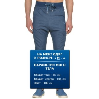 Капрі Puma Style 3 4 Sweat Pants Tr Cl - фото 6
