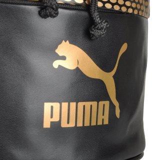 Рюкзак Puma Archive Bucket Bag Gold - фото 5