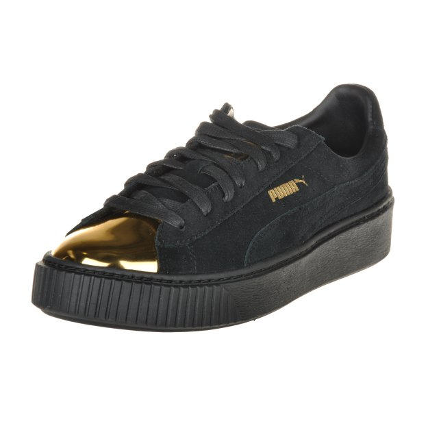 Кеди Puma Suede Creeper Gold (No R) - MEGASPORT