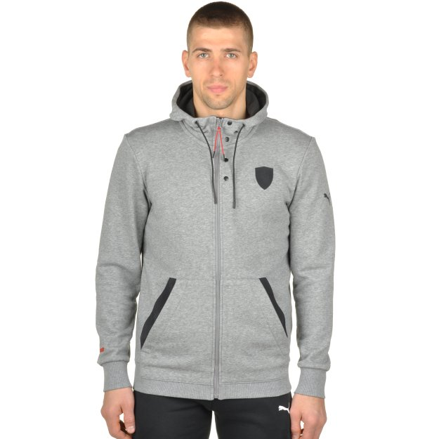 Кофта Puma Ferrari Hooded Sweat Jacket - MEGASPORT