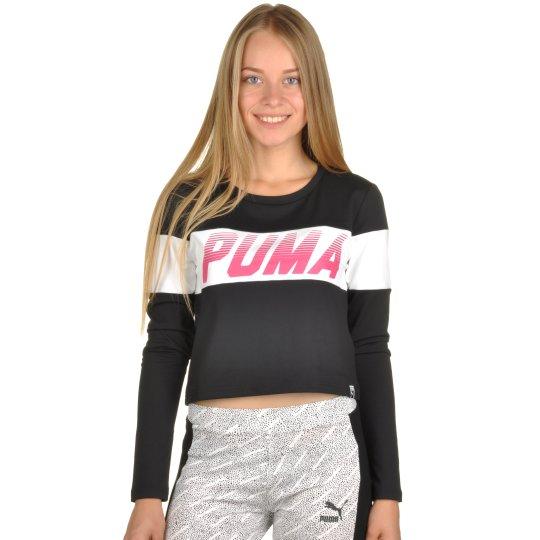 Футболка Puma Speed Font Ls Top - фото