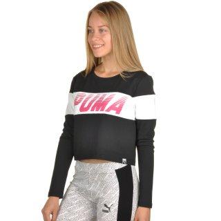 Футболка Puma Speed Font Ls Top - фото 2