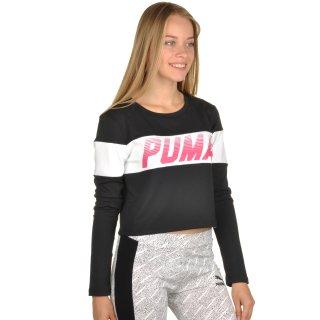 Футболка Puma Speed Font Ls Top - фото 4