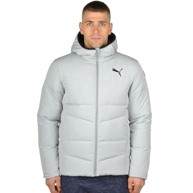Пуховик Puma Ess Hooded Down Jacket - MEGASPORT