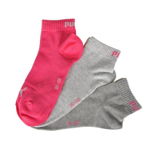 Шкарпетки Puma Quarter Socks 3 Pair - фото