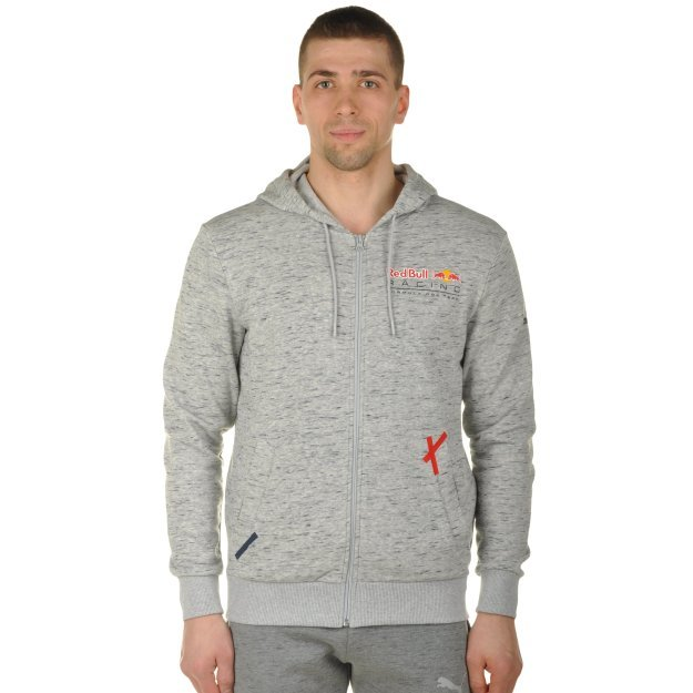 Кофта Puma Rbr Hooded Sweat Jacket - MEGASPORT