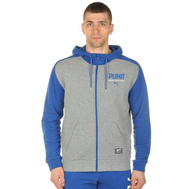 Кофта Puma Style Tec Fz Hoody Tr - MEGASPORT