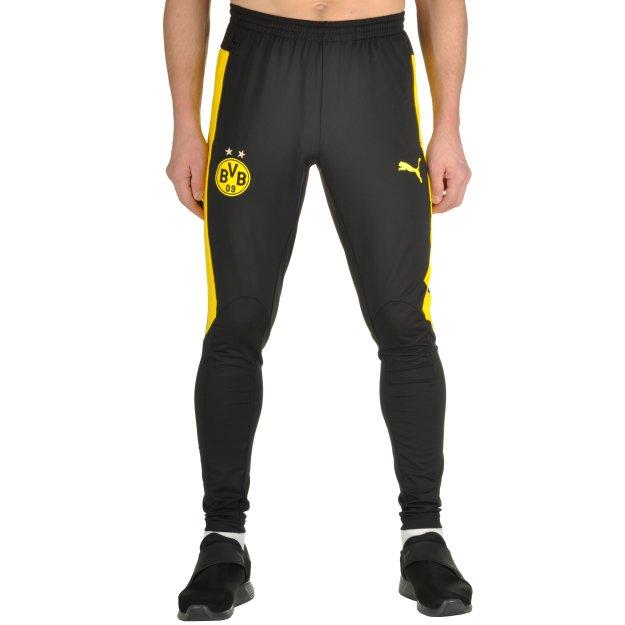 Спортивные штаны Puma Bvb Tr. Pant Tapered W. Po. - 100185, фото 1 - интернет-магазин MEGASPORT