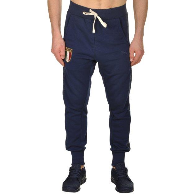 Спортивные штаны Puma FIGC Azzurri Sweat Pants - MEGASPORT