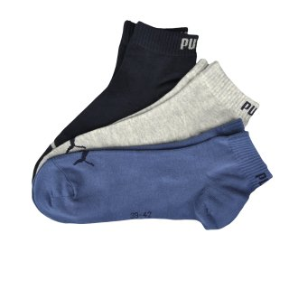 Шкарпетки Puma Quarter Socks 3 Pair - фото 1