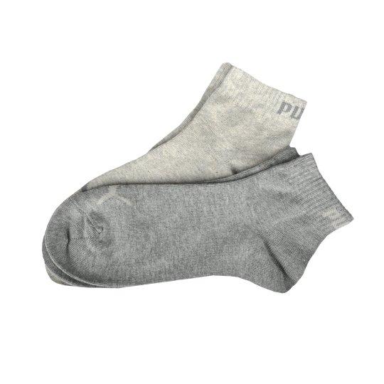 Шкарпетки Puma Quarter Kids 2p - фото