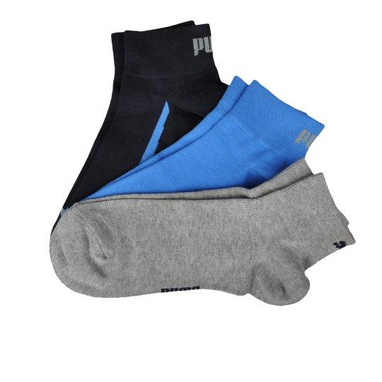 Шкарпетки Puma Lifestyle Quarters 3p - фото