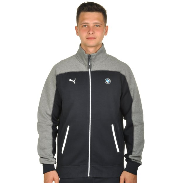 Кофта Puma BMW Msp Sweat Jacket - MEGASPORT