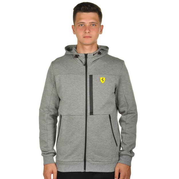 Кофта Puma SF Hooded Sweat Jacket - MEGASPORT