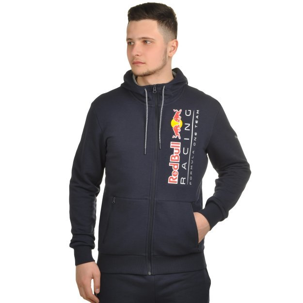 Кофта Puma Rbr Hooded Sweat Jacket - MEGASPORT
