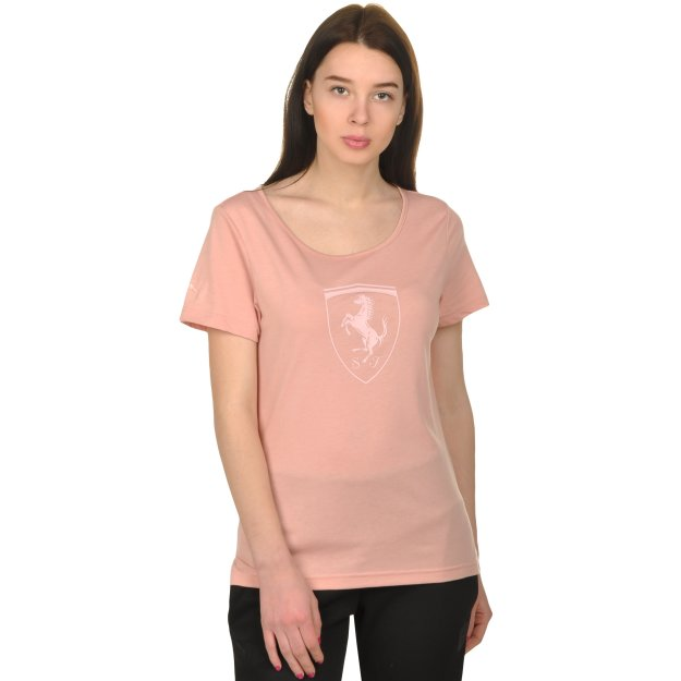 Футболка Puma Ferrari Big Shield Tee - MEGASPORT
