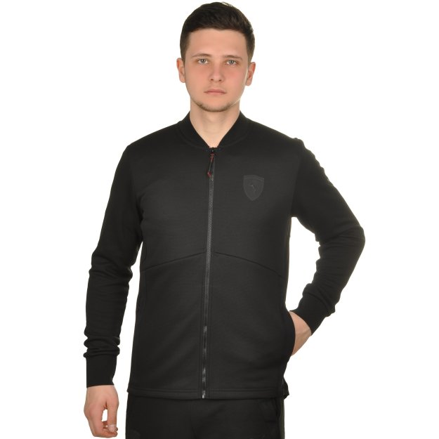 Кофта Puma Ferrari Sweat Jacket - MEGASPORT