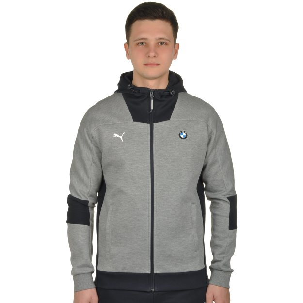 Кофта Puma BMW MS Hooded Sweat Jacket - MEGASPORT
