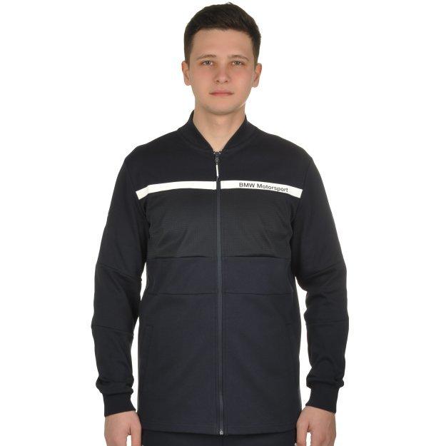Кофта Puma BMW MS Sweat Jacket - MEGASPORT