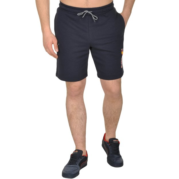 Шорты Puma Rbr Logo Sweat Shorts - MEGASPORT