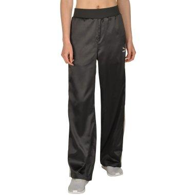 Спортивные штаны puma En Pointe Satin T7 Pant - 108953, фото 1 - интернет-магазин MEGASPORT