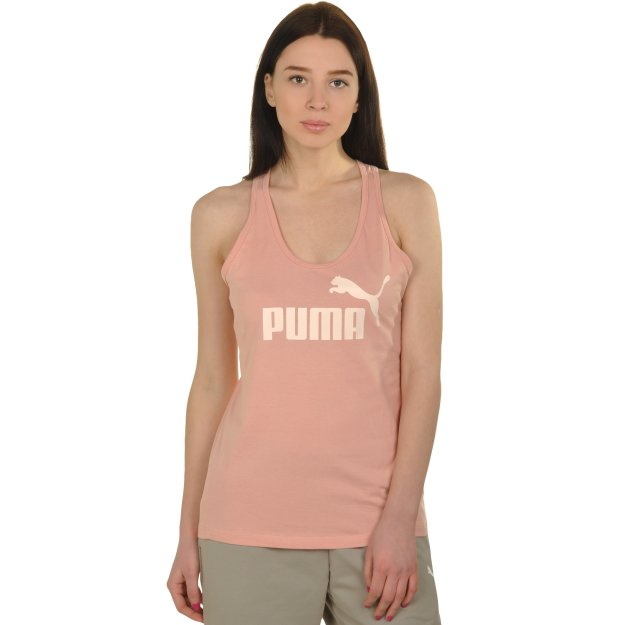 Майка Puma Ess Sporty No.1 Tank W - MEGASPORT