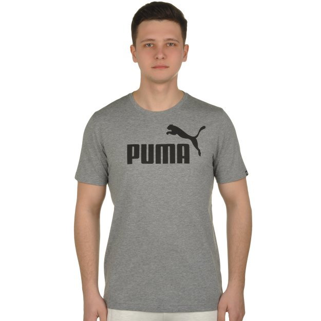 Футболка Puma ESS No.1 Heather Tee - MEGASPORT