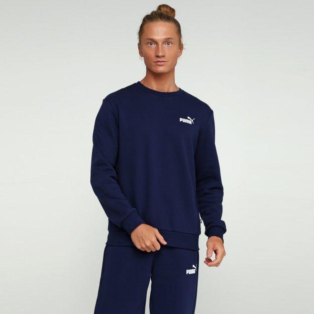 Кофта Puma Essentials Fleece Crew Sweat - MEGASPORT