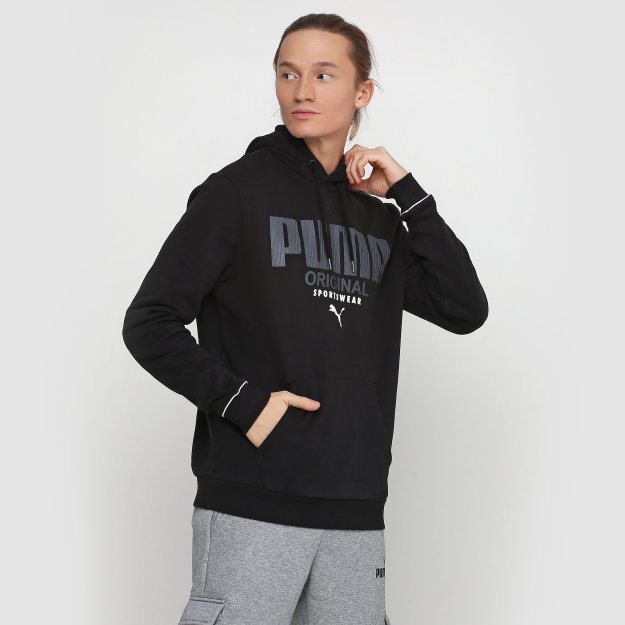Кофта Puma Athletics Hoody Fl - MEGASPORT