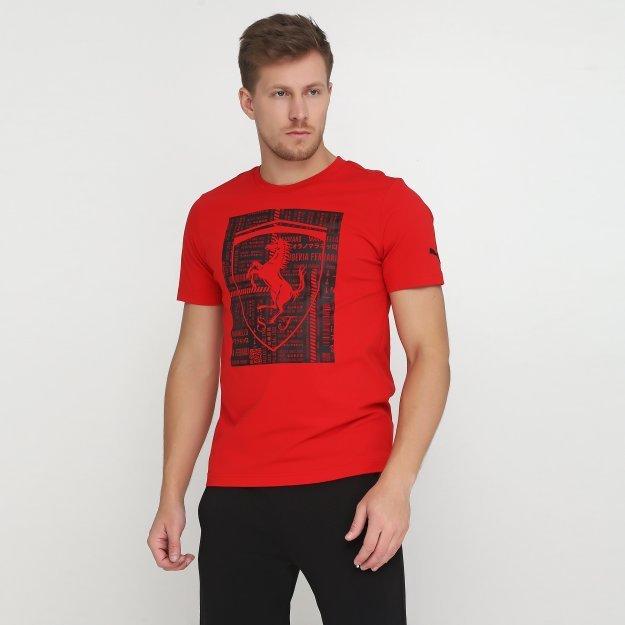 Футболка Puma Ferrari Big Shield Tee - MEGASPORT