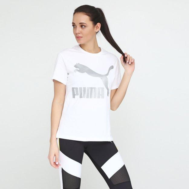 Футболка Puma Classics Logo Tee - MEGASPORT