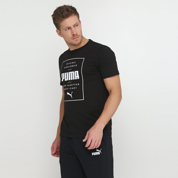 Футболка Puma Box Tee - MEGASPORT