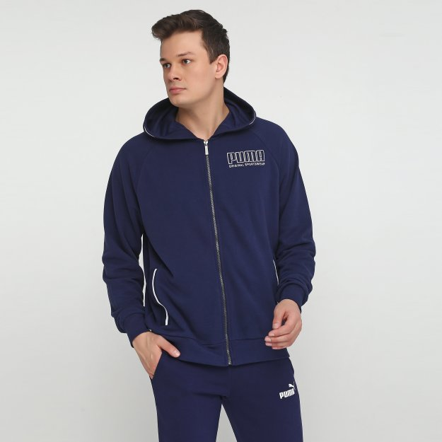Кофта Puma Athletics Hooded Jacket - MEGASPORT