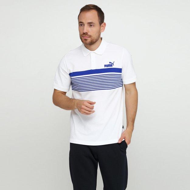 Поло Puma Essentials+ Stripe Polo - MEGASPORT