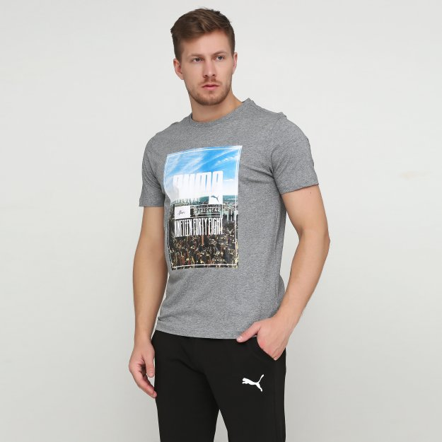 Футболка Puma Photoprint Skyline Tee - MEGASPORT