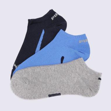 Носки puma Lifestyle Sneakers 3p - 90014, фото 1 - интернет-магазин MEGASPORT