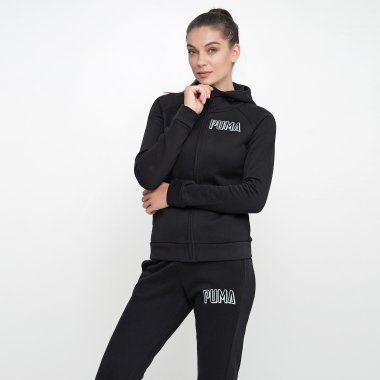 Кофты puma Athletics Fz Hoody Fl - 119567, фото 1 - интернет-магазин MEGASPORT