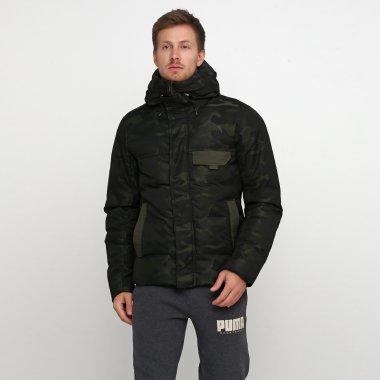 Пуховики puma 480 Camo Down Jacket - 119830, фото 1 - интернет-магазин MEGASPORT
