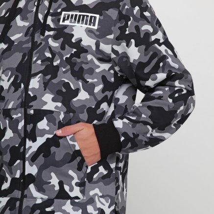 Кофта Puma Rebel Camo Fz Hoody Fl - 119625, фото 5 - интернет-магазин MEGASPORT
