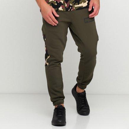 Спортивнi штани Puma Rebel Camo Pants Cl Fl - 119627, фото 2 - інтернет-магазин MEGASPORT
