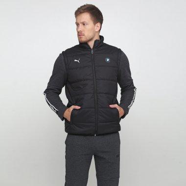 Куртки-жилеты puma Bmw Mms Padded Vest - 119631, фото 1 - интернет-магазин MEGASPORT