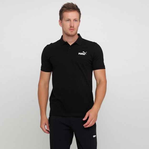 Поло Puma Essentials Pique Polo - 118379, фото 1 - интернет-магазин MEGASPORT