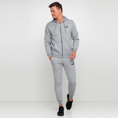 Кофти puma Essentials Fleece Hooded Jkt - 111971, фото 1 - інтернет-магазин MEGASPORT