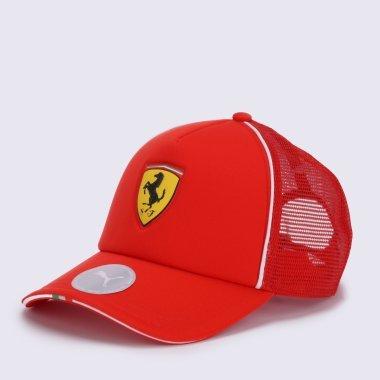 Кепки і Панами puma Ferrari Fanwear Trucker Cap - 123338, фото 1 - інтернет-магазин MEGASPORT