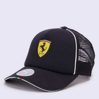Кепки і Панами puma Ferrari Fanwear Trucker Cap - 123339, фото 1 - інтернет-магазин MEGASPORT