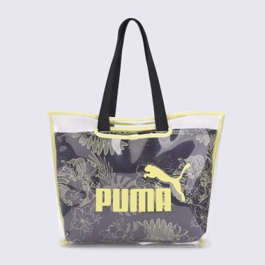 Сумки puma Wmn Core Twin Shopper - 123365, фото 1 - интернет-магазин MEGASPORT
