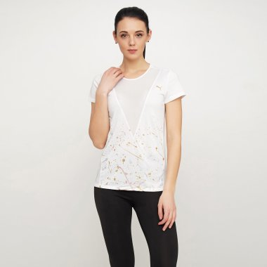 Футболки puma Metal Splash Deep V Tee - 122777, фото 1 - интернет-магазин MEGASPORT