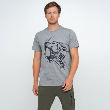 Футболки puma Performance Graphic Ss Tee - 124593, фото 1 - интернет-магазин MEGASPORT